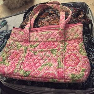 Vera Bradley handbag in lovingly used condition.